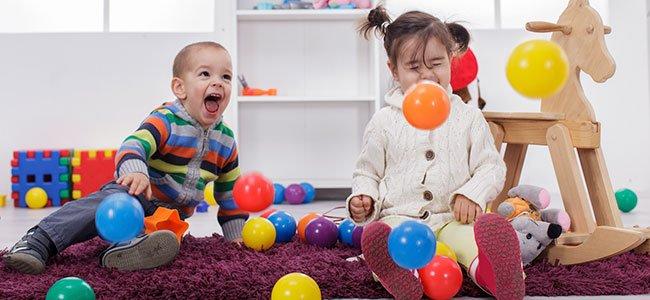Espacio de estimulación de los sentidos para niños