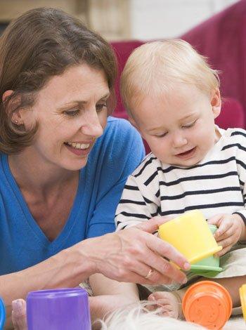 Ejercicios de estimulación para bebés