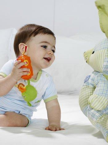 Estimulación para bebés de 0 a 6 meses