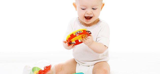 Estimulación visual de bebés entre 6 y 10 meses
