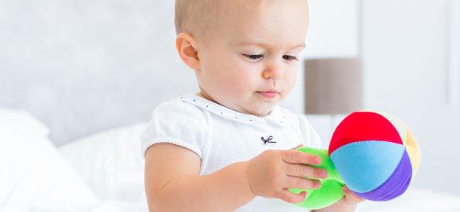 La exploración de objetos en el bebé