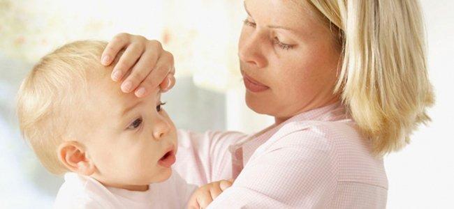 La fiebre en niños y bebés