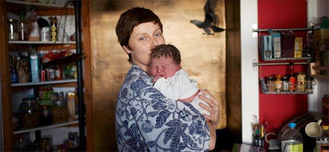 Fotos de los primeros momentos de las madres con sus bebés