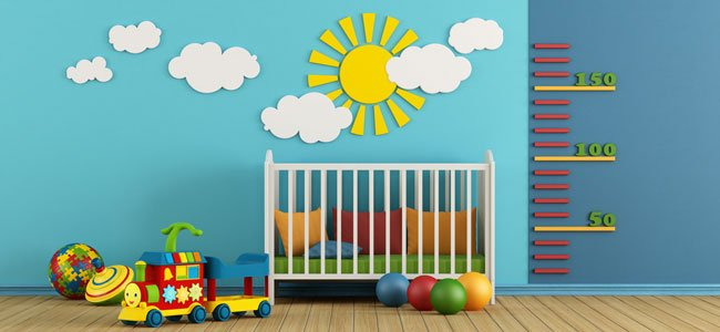 C mo decorar la habitaci n de un beb for Cuartos de nina y nino juntos
