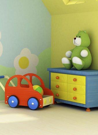 Decorar un cuarto de beb en una habitaci n peque a for Cuando empezar a preparar la habitacion del bebe