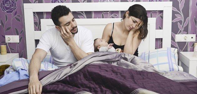 Cómo dormir bien cuando se tiene un bebé