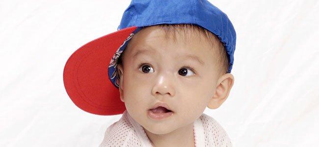 Caracter de un bebé inquieto