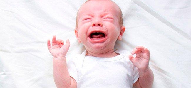 Cuando los bebés lloran sin lágrimas