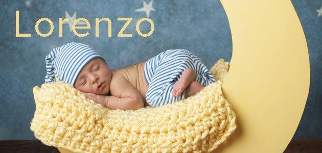 Lorenzo. Un bonito nombre para tu bebé