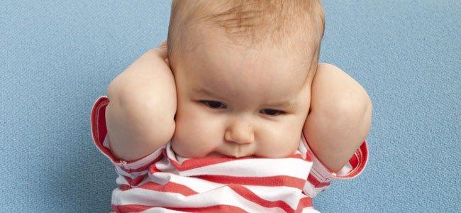 El miedo a los ruidos de bebés y niños