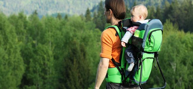 Mochila grande para llevar al bebé en brazos