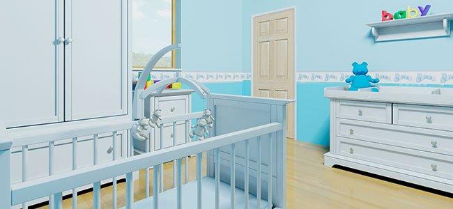 Mobiliario de la habitación del bebé