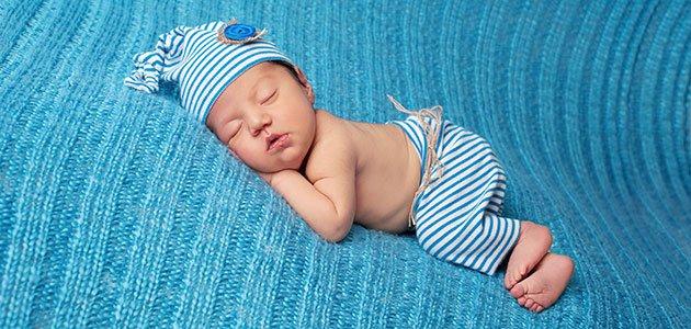 Recién nacido duerme