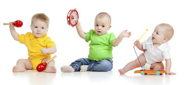Bebés hacen música