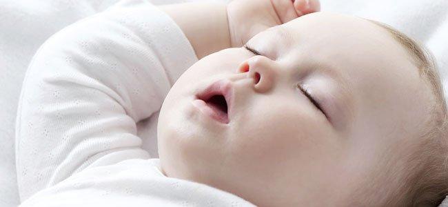 Bebé que ronca