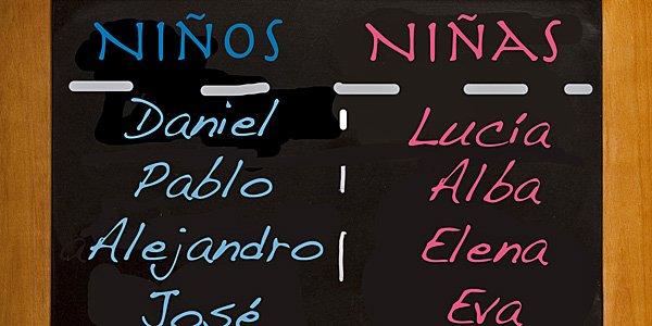 nombres espanoles para ninos y ninas
