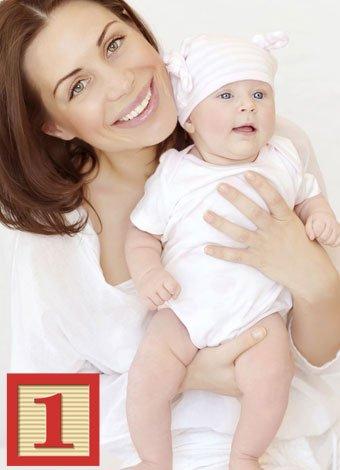 Numerología para mamás con el número 1