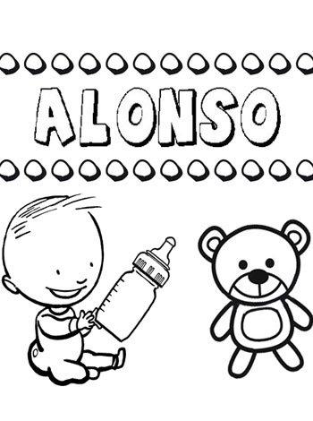 El nombre de Alonso