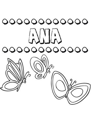 El nombre de Ana