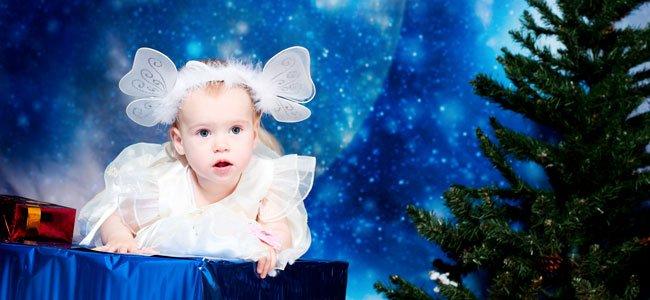 Bebé con estrellas