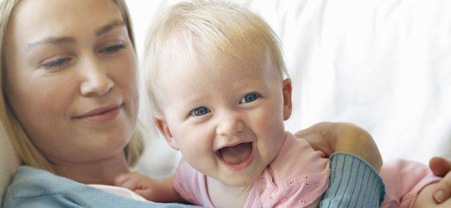 Bebé rie