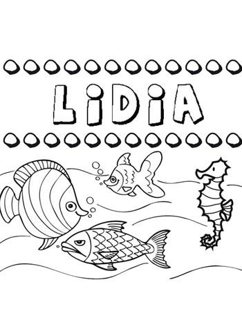 Nombre de Lidia