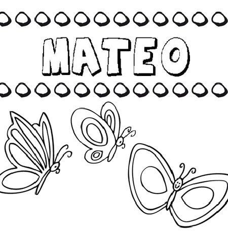 Nombre de Mateo