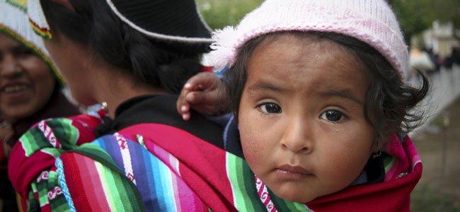 Niña peruana