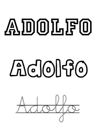 Adolfo. Nombres para niños