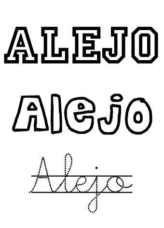 Alejo. Nombres para niños