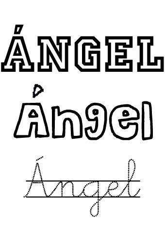 Ángel. Nombres para niños