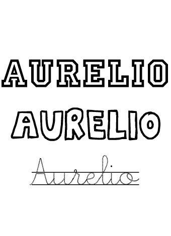 Aurelio. Nombres para niños