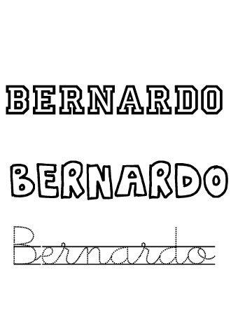 Bernardo. Nombres para niños