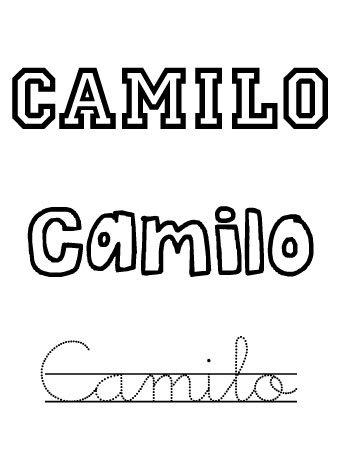 Camilo. Nombres para niños