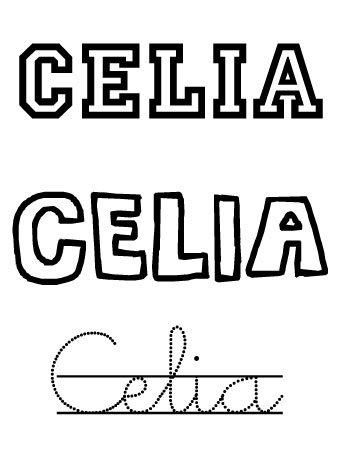 Celia. Nombres para niña