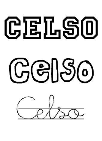 Celso. Nombres para niños