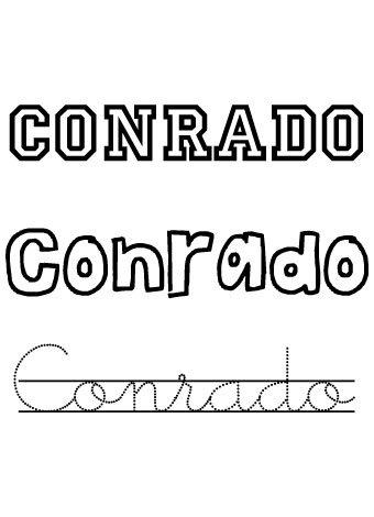 Conrado. Nombres para niños