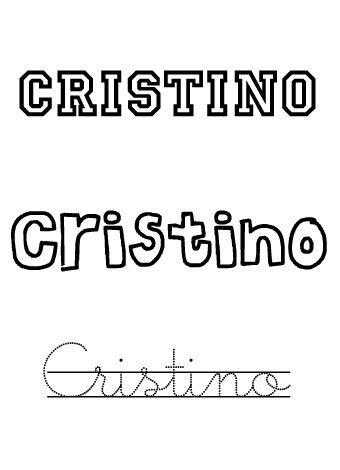 Cristino. Nombre para niños