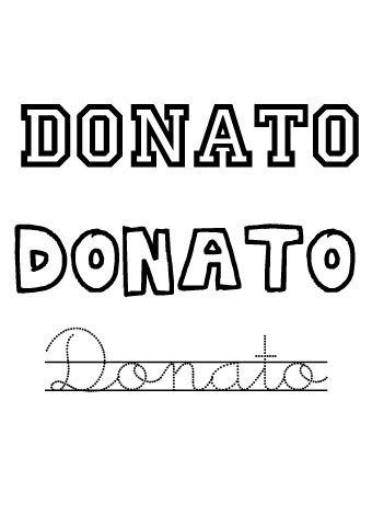 Donato. Nombres para niños