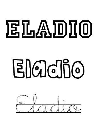 Eladio. Nombres para niños