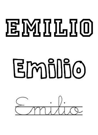 Emilio. Nombres para niños