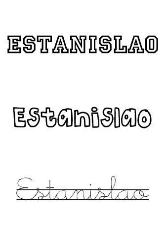 Estanislao. Nombres para niños