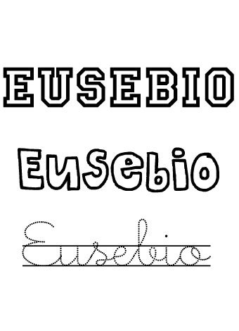 Eusebio. Nombres para niños