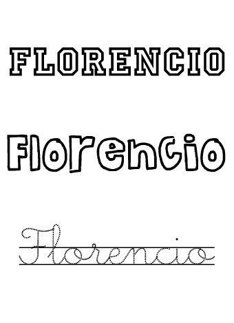 Florencio. Nombres para niños
