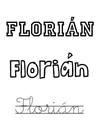 Significado del nombre para niños Florián