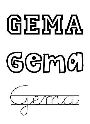 Nombre para niñas: Gemma