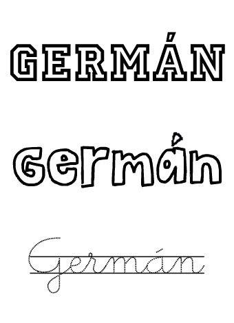 Germán. Nombres para niños