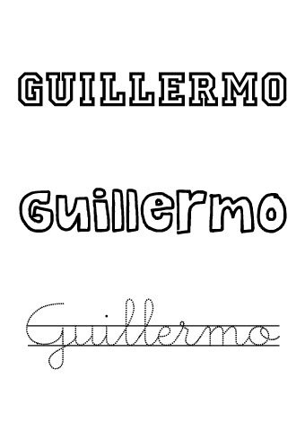 Guillermo. Nombres para niños