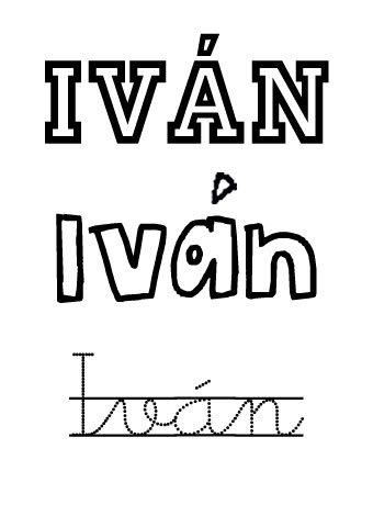 Iván. Nombres para niños