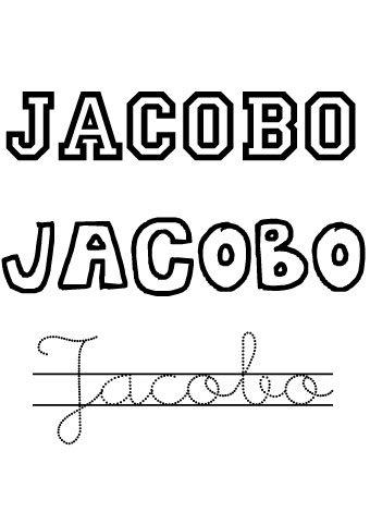 Jacobo. Nombres para niños
